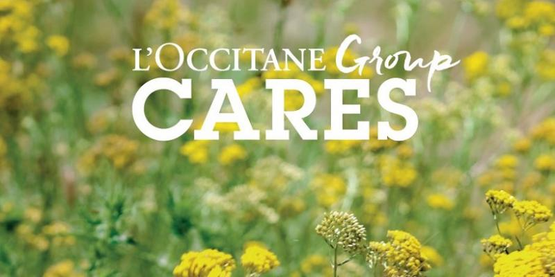 Cover - Sustainability report L'Occitane Group - 2019