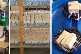 Soap manufacturing in Burkina Faso